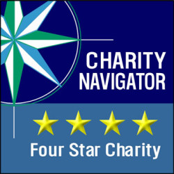 Charity Navigator 4-Star Rating Logo