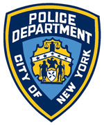 New York City Police Department Shield