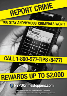 Crime Stoppers 2014 Poster