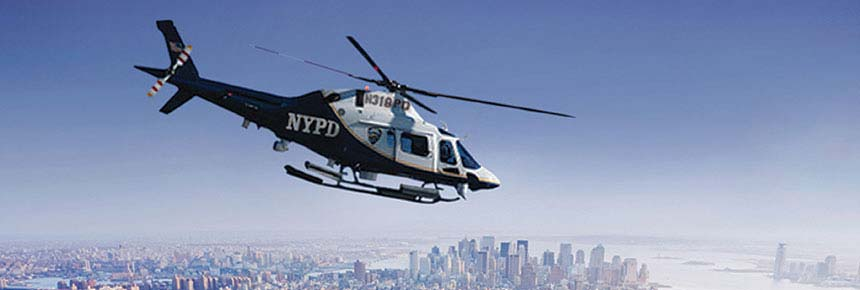 NYPD Police Helicopter